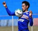 """Com Eduardo fora, Hernane elogia Tinga: """"Sabe onde vou me posicionar"""""""