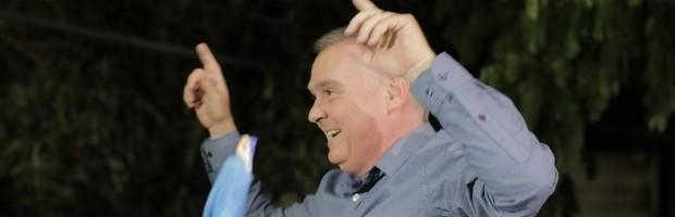 Sérgio da Coopoços é eleito prefeito em Poços de Caldas (Foto: Karina Sales)