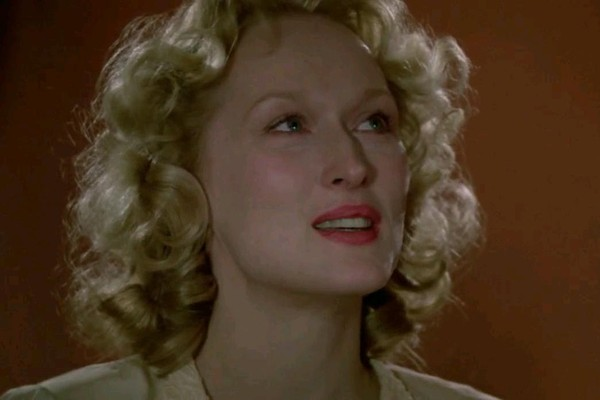 Mery Streep em A Escolha de Sofia (1982), um dos filmes que conseguiu lembrar no desafio (Foto: Reprodução)