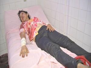 Mônica foi uma das sobreviventes do acidente (Foto: TV Verdes Mares/Reprodução)
