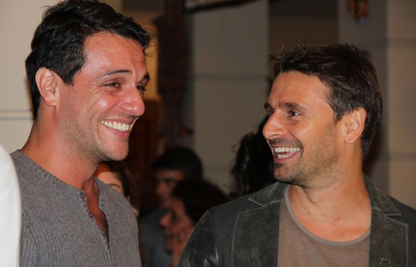 Rodrigo Lombardi e Murilo Rosa: galãs serão rivais na trama (Foto: Nathalia Fernandes / TV Globo)
