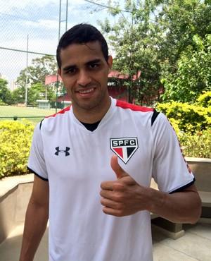 Alan Kardec São Paulo (Foto: Diogo Venturelli/GloboEsporte.com)