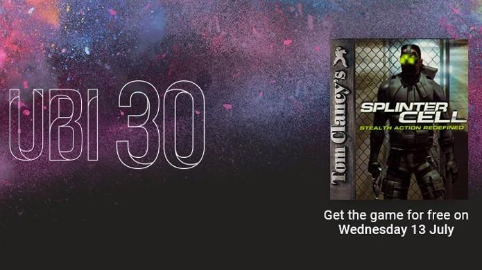 Ubisoft oferece Splinter Cell para PC de graça em comemoração aos 30 anos da empresa (Foto: Reprodução/Rafael Monteiro)