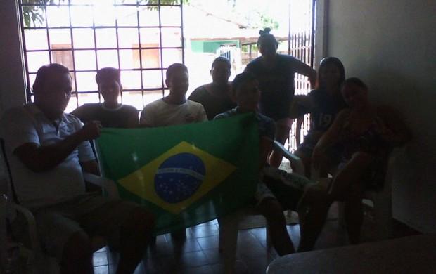 Amigos e familiares unidos por Thiago Maia (Foto: arquivo pessoal)