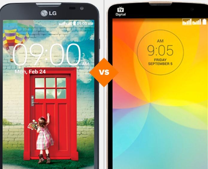 LG L Prime vs LG L90 (Foto: Arte/TechTudo)