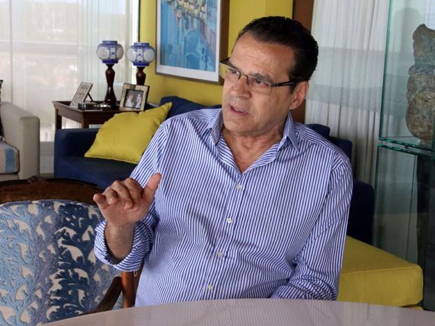 Henrique Eduardo Alves (PMDB) (Foto: Cláudio Abdon)