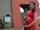 'Senti dor na coluna', diz grávida ao  sair do Enem em Ariquemes, RO