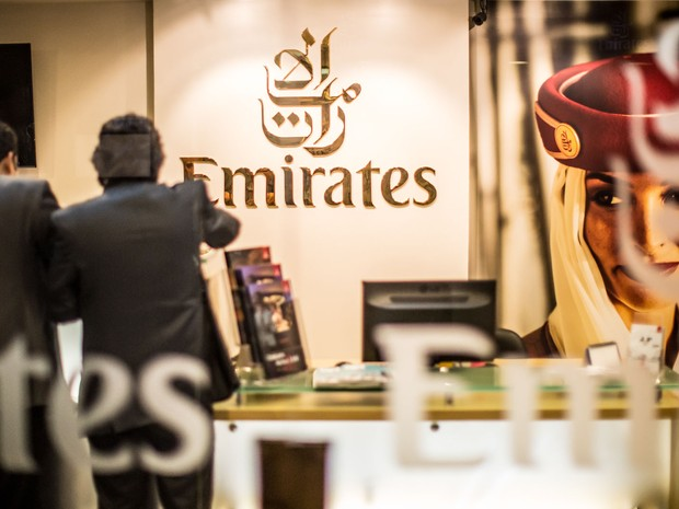 Emirates (Foto: Raul Zito/G1)