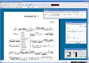 criar partitura, Forte Standart