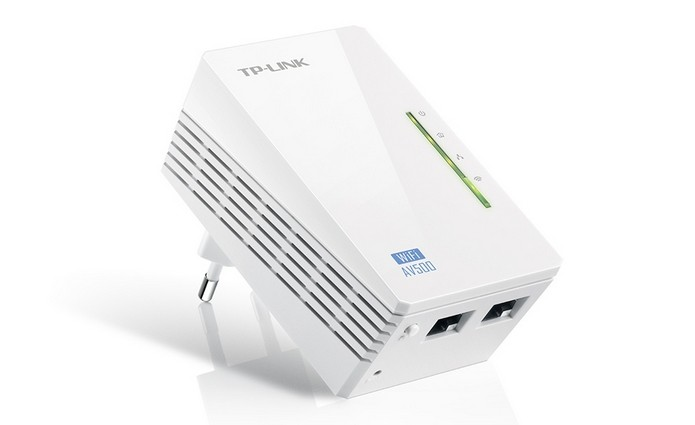 Repetidor TP-Link Powerline WPA4220 (Foto: Divulgação/TP-Link)