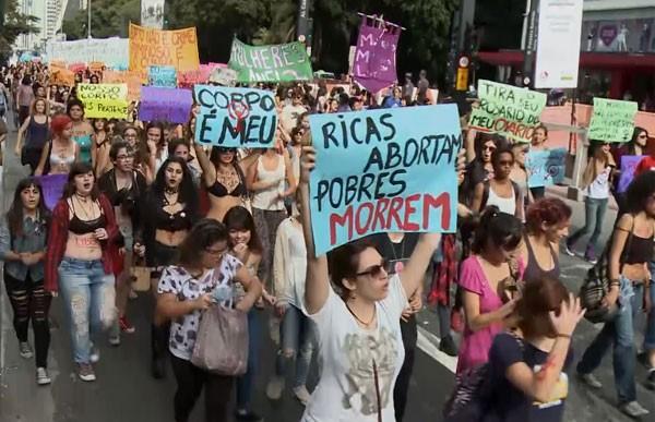 """Documentário """"Meu Corpo, Minha Vida"""" mostra a trágica realidade do aborto clandestino no Brasil (Foto: Reprodução)"""