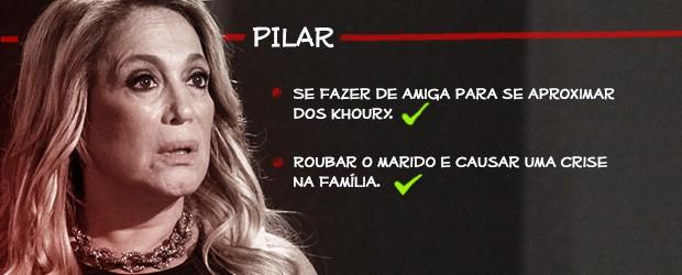 Pilar (Foto: Amor à Vida/TV Globo)