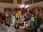 Material apreendido  pode ser resgatado (Reprodução/TV Bahia)