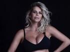 Karina Bacchi exibe barrigão de 5 meses de gravidez