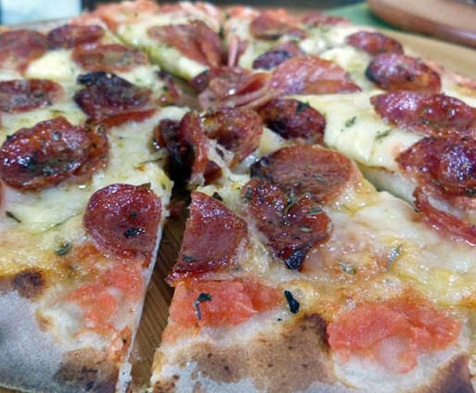Pizza Forno à lenha (Foto: Gshow)