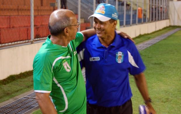 Ramiro Sousa, Neto Maradona, Técnico do CSP, Técnico do Sousa, Campeonato Paraibano, Paraíba (Foto: Richardson Gray / Globoesporte.com/pb)
