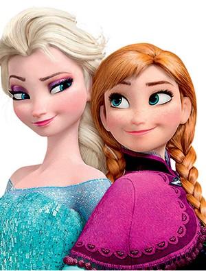 As princesas Elsa e Anna (Foto: divulgação)