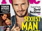 Revista elege David Beckham o homem mais sexy do mundo