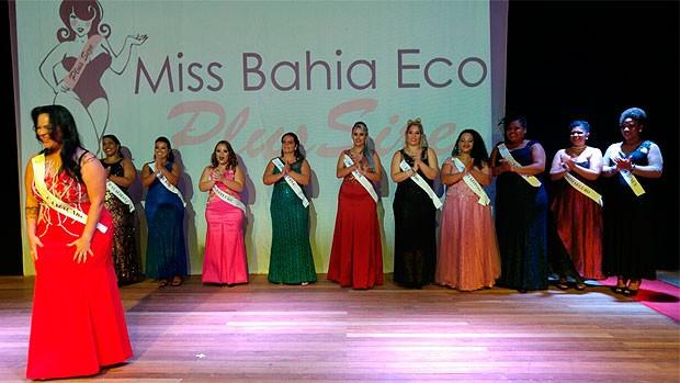 Miss Plus Size Bahia (Foto: Divulgação)