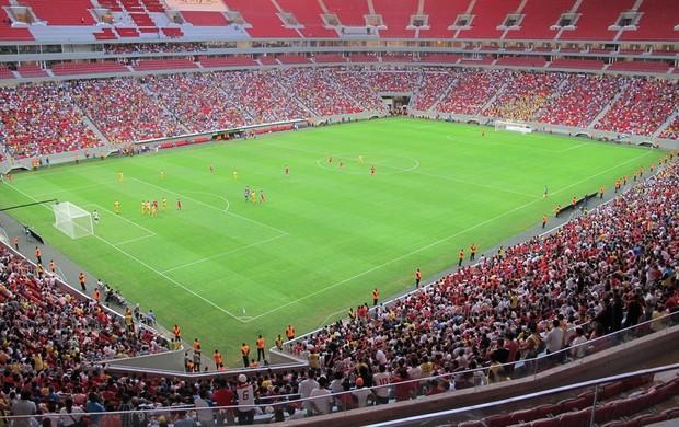 inauguração Estádio Mané Garrincha (Foto: Marcelo Baltar)