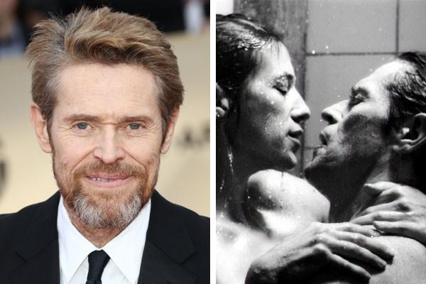 O ator Willem Dafoe também usou dublê de corpo para as cenas de sexo explícito no filme Anticristo (2009) (Foto: Getty Images/Reprodução)