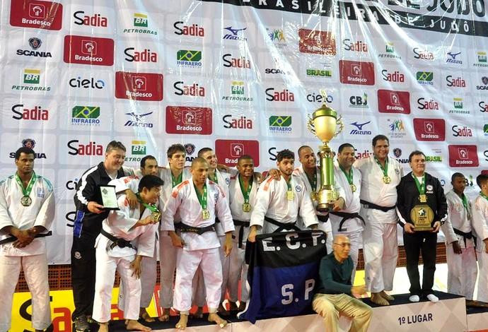 Pinheiros, campeão do Grand Prix de judô 2013 (Foto: Divulgação)
