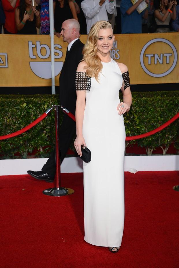 Natalie Dormer no SAG Awards 2014 (Foto: AFP)