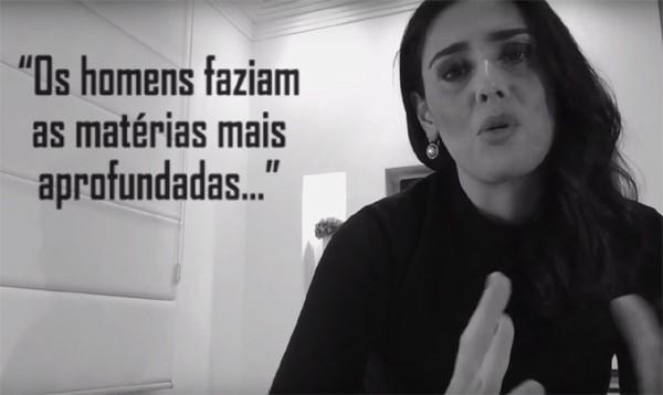 Jornalistas se juntam nas edes sociais em campanha contra assédio (Foto: Reprodução Youtube)