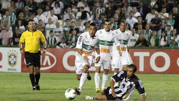 Coritiba x ASA-AL pela copa do brasil (Foto: Divulgação/site oficial do Coritiba Foot Ball Club)