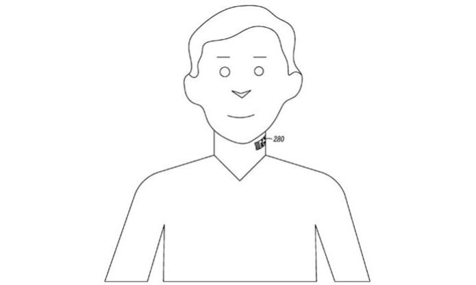 Tatuagem no pescoço pode captar voz e enviar para smartphone (Foto: Reprodução/The Register) (Foto: Tatuagem no pescoço pode captar voz e enviar para smartphone (Foto: Reprodução/The Register))
