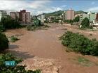 Com chuvas, Rio Itapemirim volta a encher, no Sul do ES