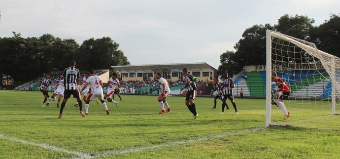 River-PI x Cori-Sabbá pela quinta rodada do Campeonato Piauiense (Foto: Abdias Bideh/GloboEsporte.com)