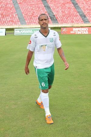 Zagueiro do Uberlândia, Rafael Almeida (Foto: Vilmar Silva/ Garra Esporte)