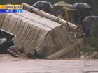 Chuva no RS provoca alagamentos em cidades do Norte e Noroeste