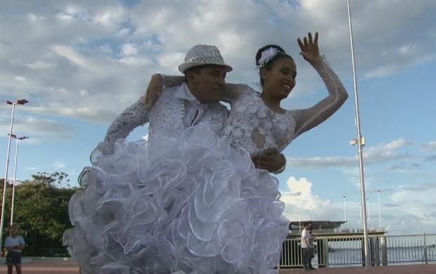 Casal de Roraima ganha Concurso  Nacional de Noivos Juninos (Foto: Bom Dia Amazônia)