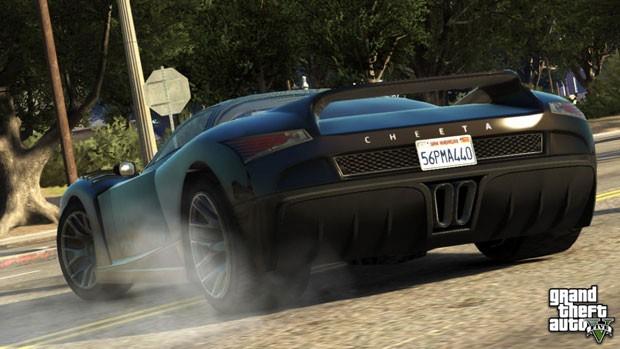 Veículo esportivo fictício Cheeta, que estará em 'GTA V' (Foto: Divulgação)