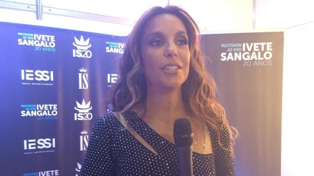 Ivete Sangalo está animada para mais um show no Planeta Atlântida (Foto: Rafaella Fraga/Gshow)
