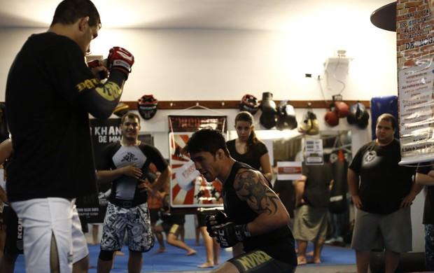 Diego Nunes Èderson Lion seminário (Foto: Rômulo Machado)