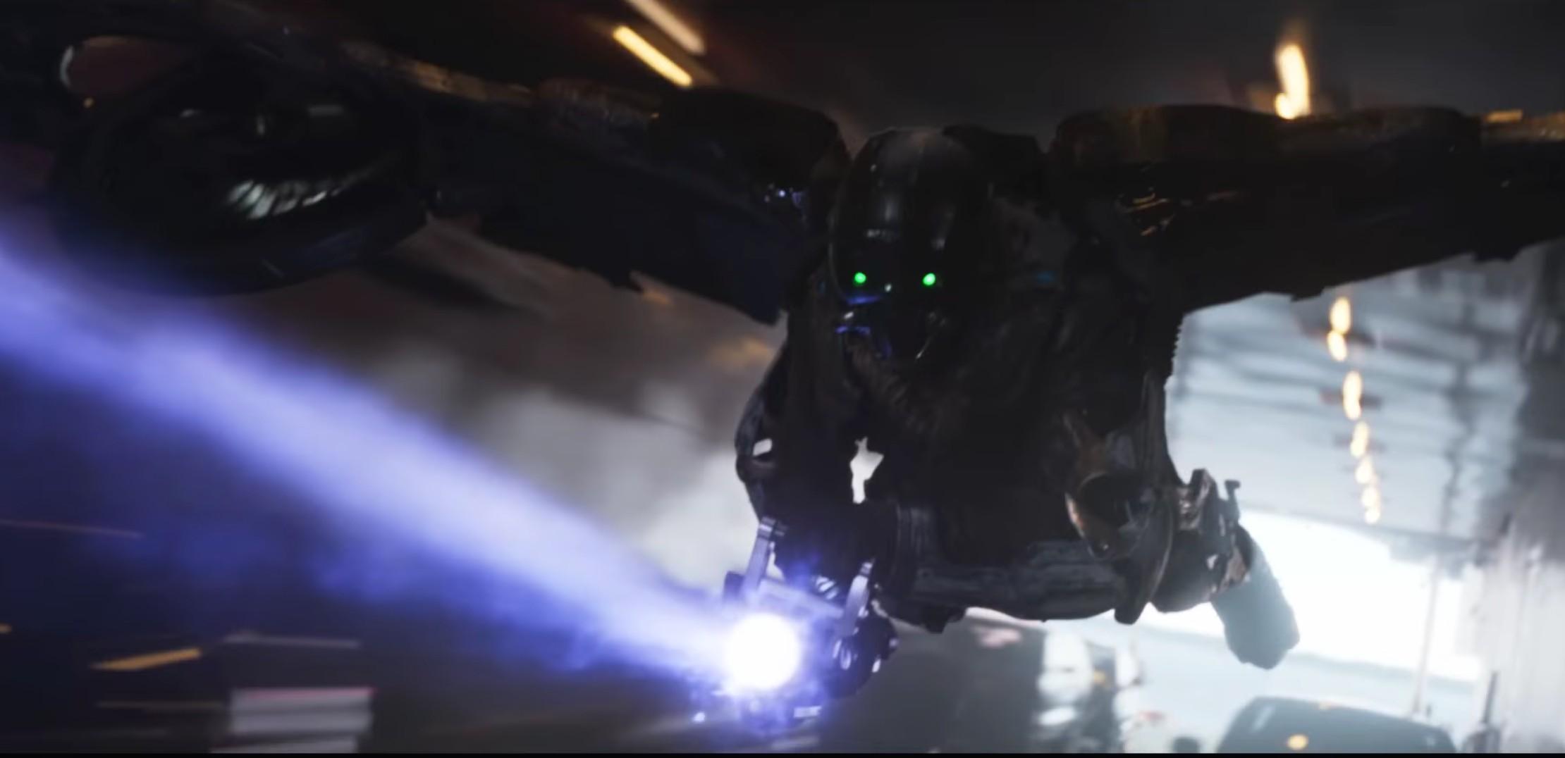 Michael Keaton interpretando pela terceira fez um personagem com referncias a um animal alado (Foto: Divulgao)