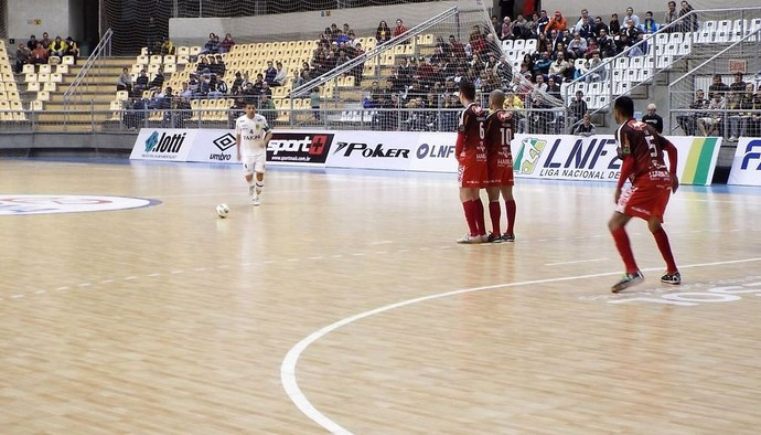 Jaraguá do Sul x Atlântico Erechim (Foto: Divulgação/Jaraguá Futsal)