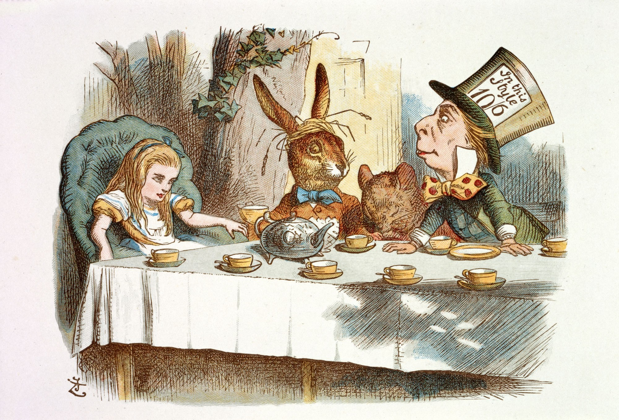 Alice no País das Maravilhas: obra era publicada há 152 anos (Foto: Divulgação )