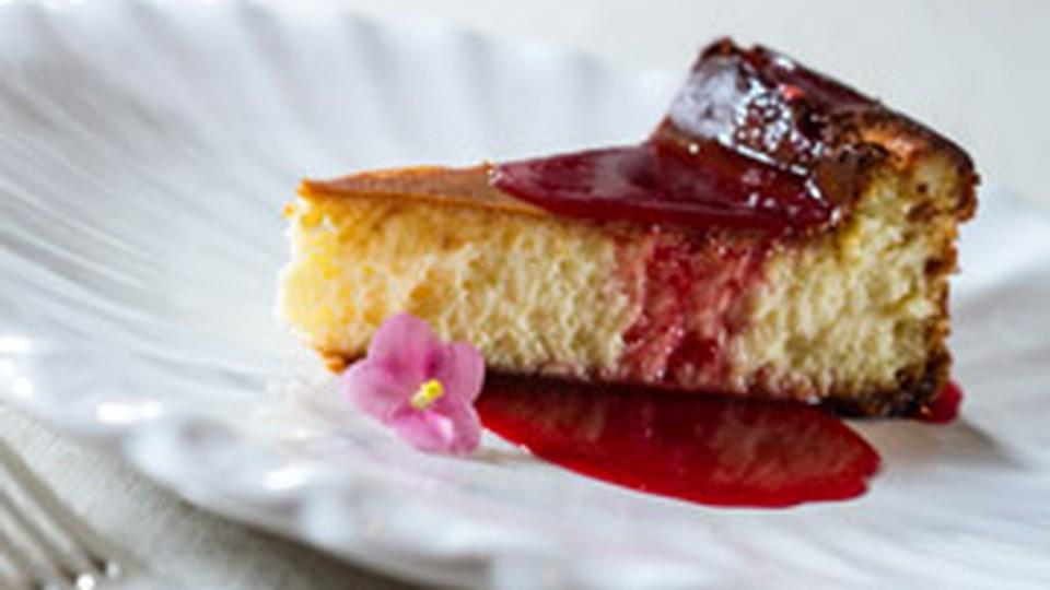 Cheesecake Com Calda De Goji Berry Da Dieta Dukan Receitas Gnt