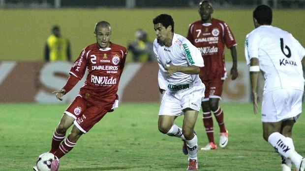 Jefferson Feijão, do América-RN x Bragantino (Foto: Luis Moura / Agência Estado)