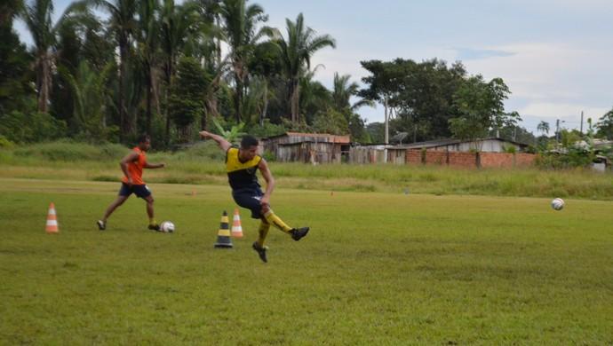 Rondoniense foca no Campeonato Estadual  (Foto: Lívia Costa)