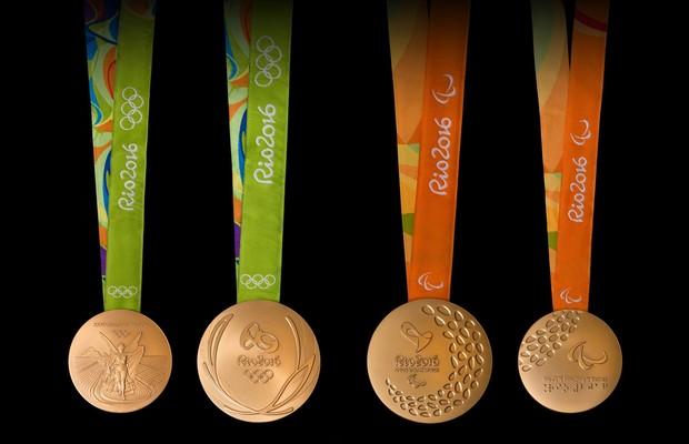 Medalhas olímpicas e paralímpicas são apresentadas no Rio de Janeiro