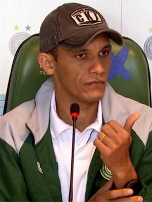 Bruno Recife, lateral esquerdo do Guarani (Foto: Márcio de Campos / EPTV)