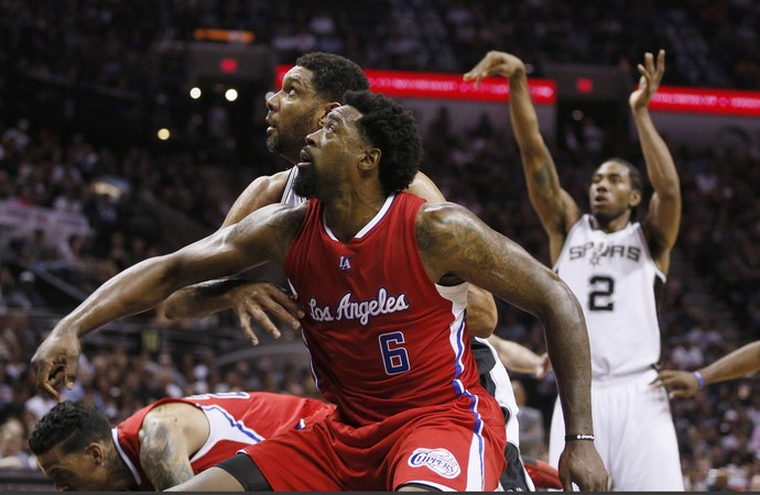 DeAndre Jordan, Los Angeles Clippers, basquete nba (Foto: Reuters)
