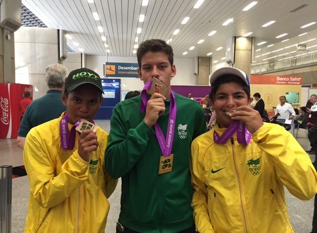 Marcelo Costa Filho Marcus Vinicius Jhonata Reis  (Foto: Amanda Kestelman)