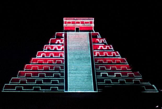 Pirâmide fica em antiga cidade maia (Foto: Lorenzo Hernandez/Reuters)