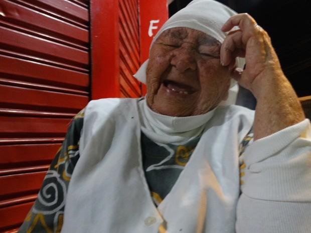 Tapioqueira Maria Anunciada de Souza, de Caruaru, Agreste (Foto: Thays Estarque/ G1)